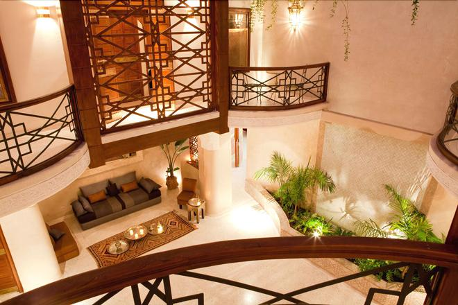 阿尔卡德里庭院酒店 - 马拉喀什 - 户外景观