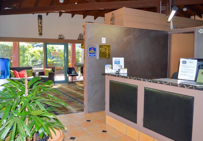 最佳西方斑马汽车旅馆 - 科夫斯港 - 柜台