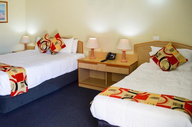 最佳西方斑马汽车旅馆 - 科夫斯港 - 睡房