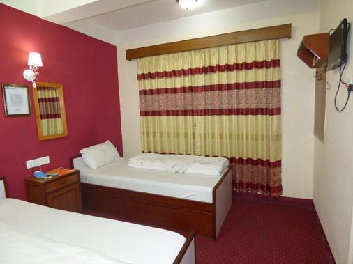 尼泊尔加德满都阿比酒店 - 加德满都 - 睡房