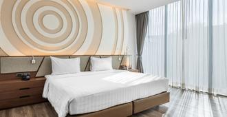 橄榄公寓酒店 - 曼谷 - 睡房