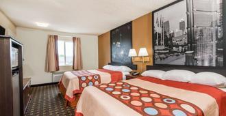 速8酒店印第安纳波利斯/东北/卡斯尔顿 - 印第安纳波利斯 - 睡房