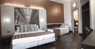 米兰纳威格力酒店 - 米兰 - 睡房