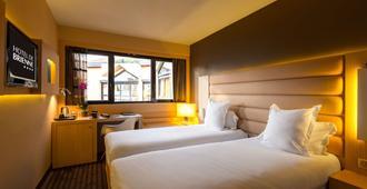 布列讷酒店 - 图卢兹 - 睡房