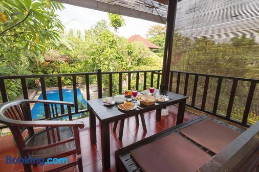 巴厘岛热带酒店 - 登巴萨 - 阳台