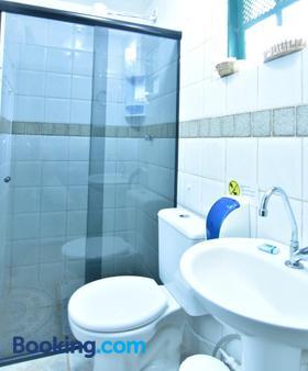 波萨达艾斯塔拉金波尔图酒店 - 阿拉亚尔-杜卡布 - 浴室