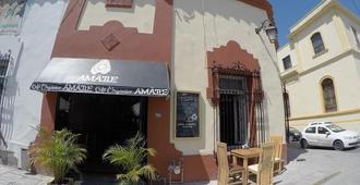 Amatle Cafe Organico & Hostel - 蒙特雷 - 建筑
