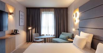 布鲁塞尔中央车站诺富特酒店 - 布鲁塞尔 - 睡房