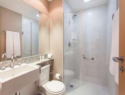 安可米纳斯卡萨华美达酒店 - 贝洛奥里藏特 - 浴室
