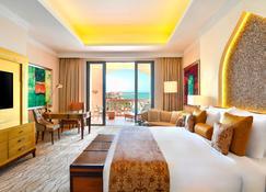 珍珠马尔萨马拉兹凯宾斯基酒店 - 多哈 - 睡房