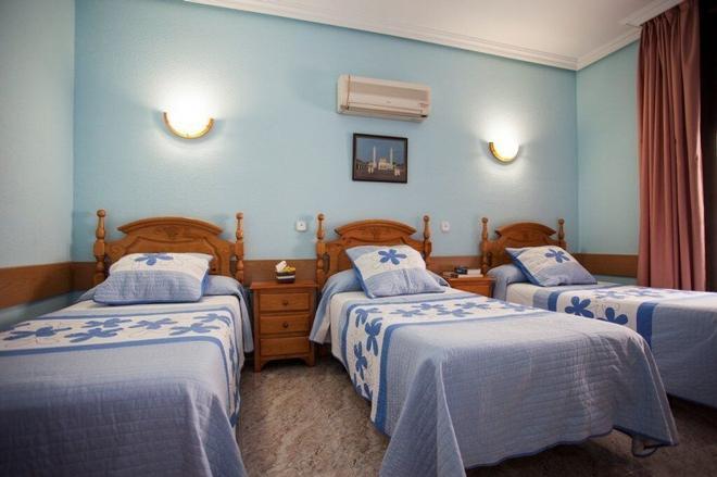 贝尔梅霍旅馆 - 马德里 - 睡房