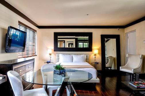 林肯阿姆斯套房酒店 - 迈阿密海滩 - 睡房