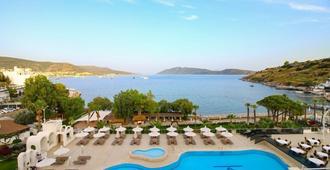 阿兹卡酒店 - 博德鲁姆 - 游泳池