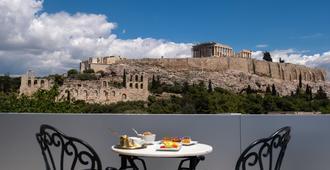 卫城景色酒店 - 雅典 - 阳台