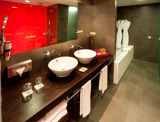 巴塞罗瓦伦西亚酒店 - 巴伦西亚 - 浴室