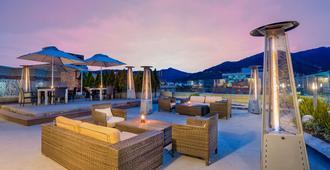 卡尔顿丹恩酒店及水疗中心 - 波哥大 - 露台