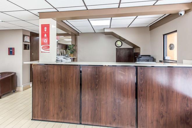 伊克诺拉奇旅馆-中城 - 萨凡纳 - 柜台