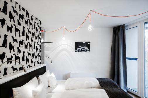 V酒店 - 波恩(波昂) - 睡房