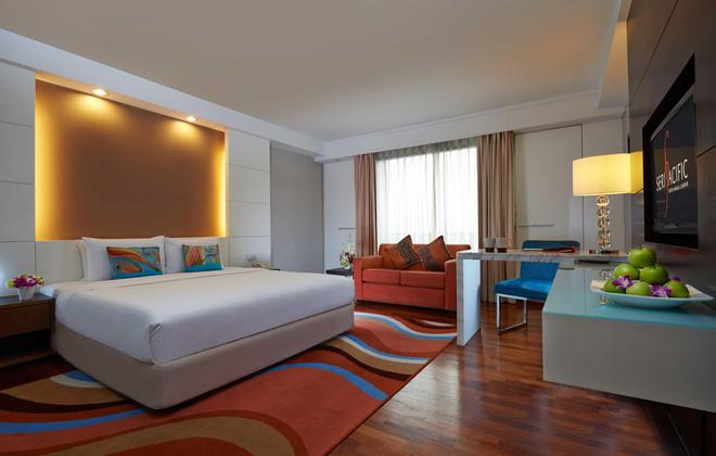 斯里太平洋酒店 - 吉隆坡 - 睡房