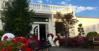 拉莫尔盖尔尼酒店 - 杜伊斯堡 - 露台