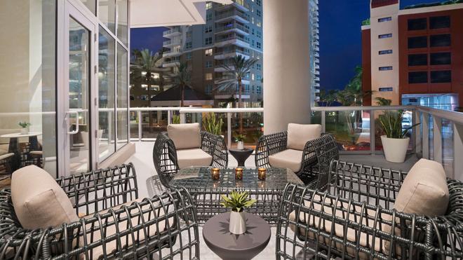 凯悦中心布里克尔-迈阿密酒店 - 迈阿密 - 阳台