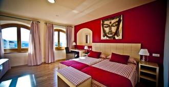 卡斯蒂利亚伯爵酒店 - 塞哥维亚 - 睡房