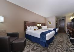 贝斯特韦斯特威利斯顿套房酒店 - Williston - 睡房