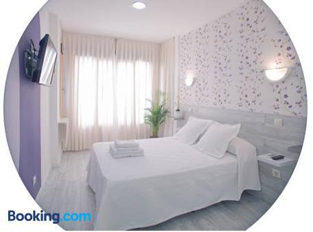马德里内尔森旅馆 - 马德里 - 睡房
