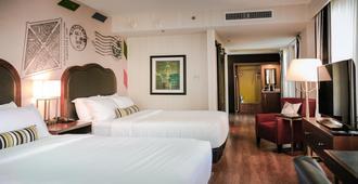 因迪格酒店 - 堪萨斯市中心 - 堪萨斯城 - 睡房