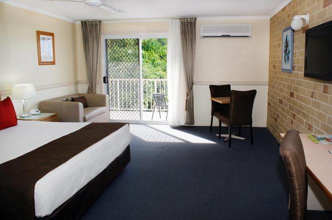 西佳大使汽车旅馆 - 赫维湾 - 睡房