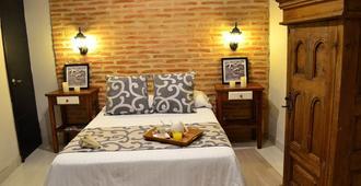 卡萨特立尼达酒店 - 卡塔赫纳 - 睡房