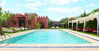 可可卡内尔酒店 - 马拉喀什 - 游泳池