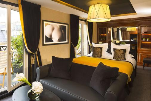 贝尔蒙香榭丽舍大街酒店 - 巴黎 - 睡房