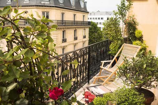 贝尔蒙香榭丽舍大街酒店 - 巴黎 - 阳台
