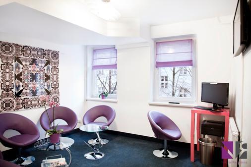 尼古拉公寓酒店 - 柏林 - 客厅