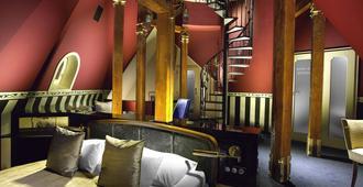 布拉格巴黎酒店 - 布拉格 - 睡房