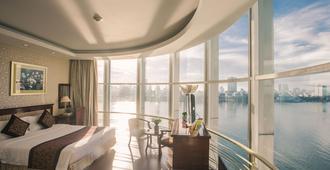 岘港太阳河酒店 - 岘港 - 睡房