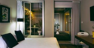 生活55号酒店 - 波哥大 - 睡房