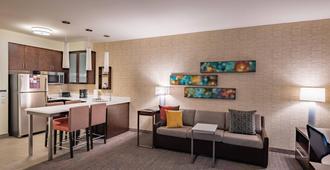 达拉斯峡谷万豪长住酒店 - 达拉斯 - 客厅