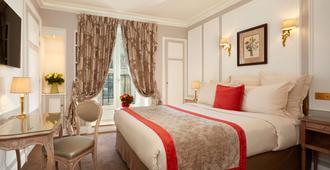 雷吉纳酒店 - 巴黎 - 睡房