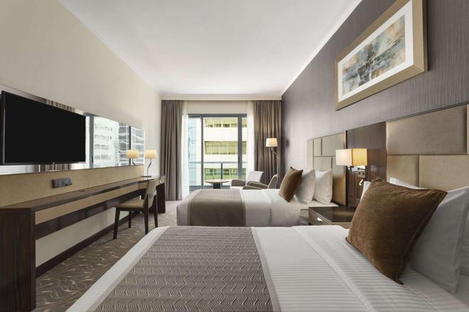 霍桑套房酒店-阿布达比市中心 - 阿布扎比 - 睡房