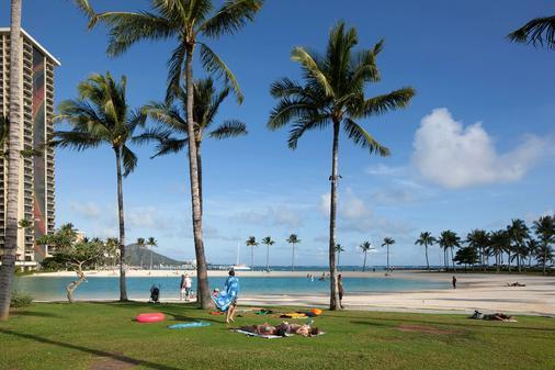 伊利凯利特酒店 - 檀香山 - 海滩