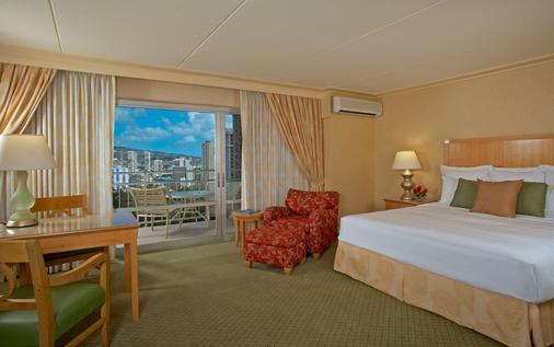 伊利凯利特酒店 - 檀香山 - 睡房