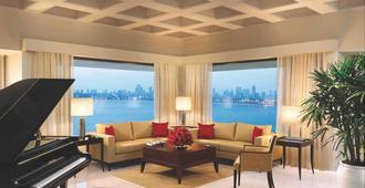 孟买欧贝罗伊酒店 - 孟买 - 客厅