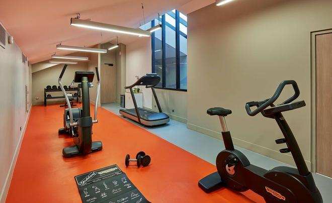 马赛nh典藏酒店 - 马赛 - 健身房