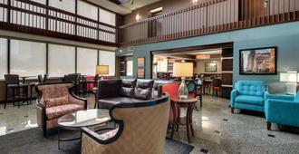 休士顿商业街廊德鲁套房酒店 - 休斯顿 - 休息厅