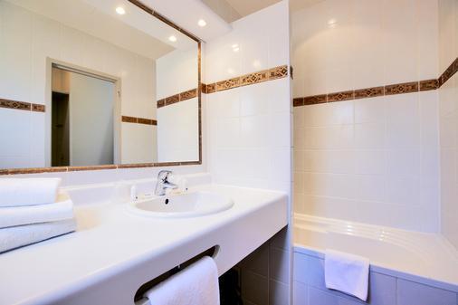基里亚德尼姆中央酒店 - 尼姆 - 浴室