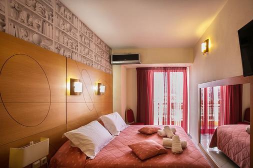 伊拉克利翁生活精品酒店 - 伊拉克里翁 - 睡房
