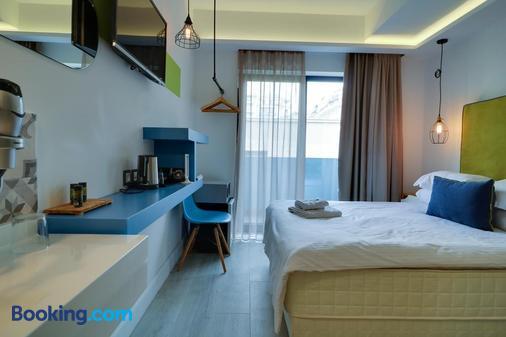 蓝瓶精品酒店 - 塞萨洛尼基 - 睡房
