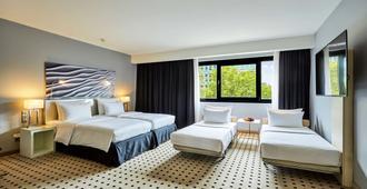杜塞尔多夫斯堪的纳维亚丽笙酒店 - 杜塞尔多夫 - 睡房